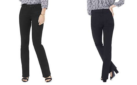 NYDJ Barbara Bootcut Jeans in Black - Bloomingdale's_2